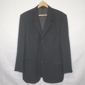 Kenneth Cole New York Black Suit Jacket Blazer